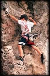 Begining climbing
